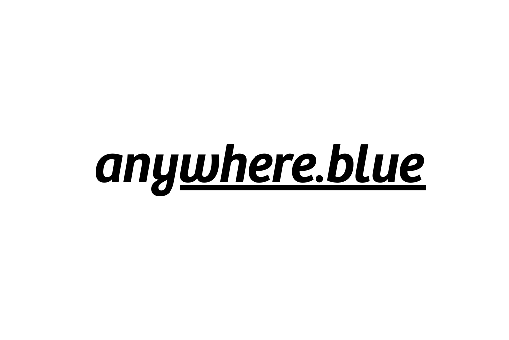 anywhere.blue